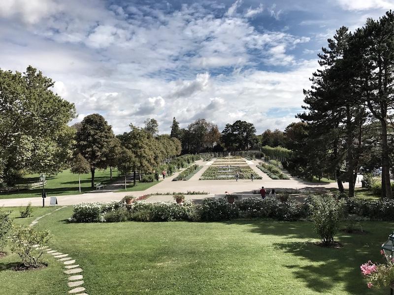 Rosarium Parkanlage Baden