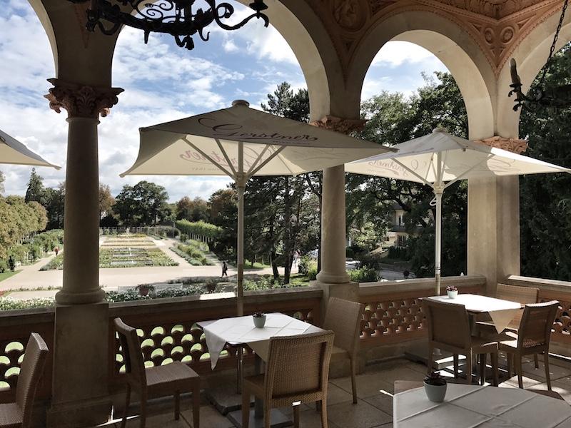 Terrasse Schlosshotel Baden